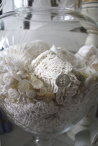 Vintage Lace in Jar | Flickr - Photo Sharing!