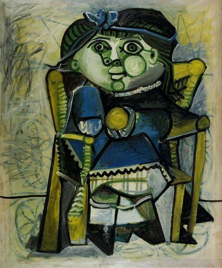 'Paloma a l`orange' (1951) by Pablo Picasso