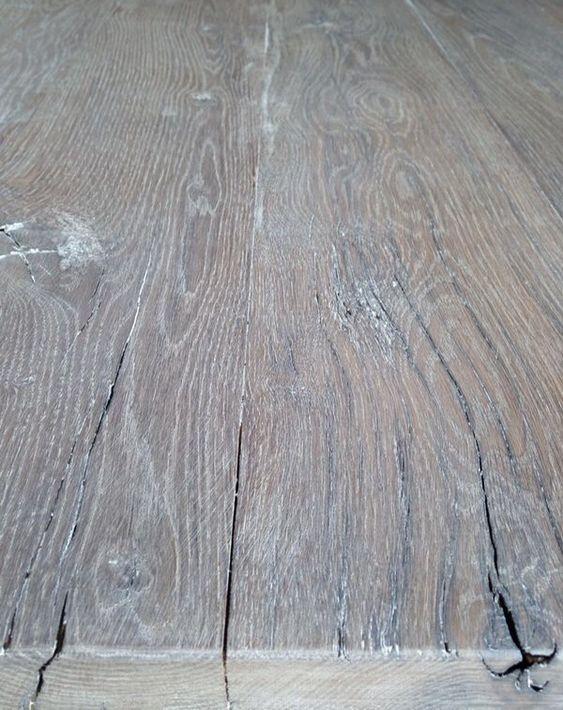Keuken Van Eikenhout : Zelf eikenhout (of andere houtsoorten) vergrijzen. Laten doen kan