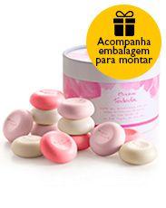 Presente Natura Tododia Sabonetes - 12 Sabonetes em Barra Sortidos + Embalagem Desmontada