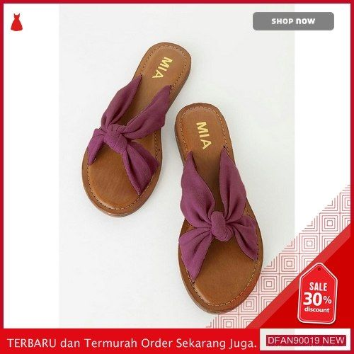 Jual Dfan90019f96 Sepatu N Sandal Fc03x096 Wanita Teplek Pita Terbaru Sandals Shoes Fashion