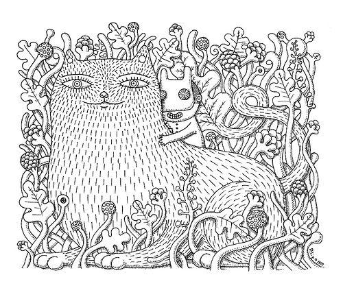 Gato por libre. Blog del ilustrador Chema Lera y sus gatos.