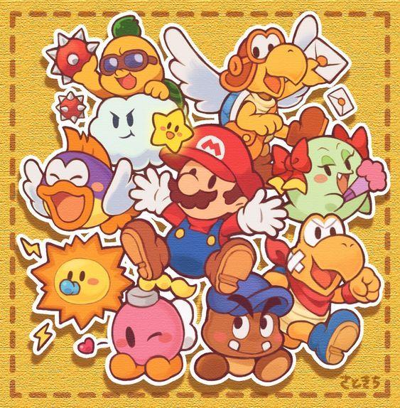 Jogos Do Mario Gratis Mario Art Mario E Luigi Desenhos Do Mario