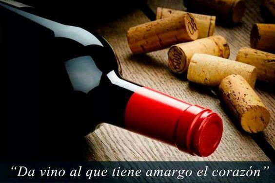 A dar vino