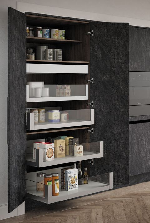 12 Stylish And Practical Pantry Ideas For Your Kitchen In 2020 Kitchen Pantry Design Corner Pantry Pantry Design