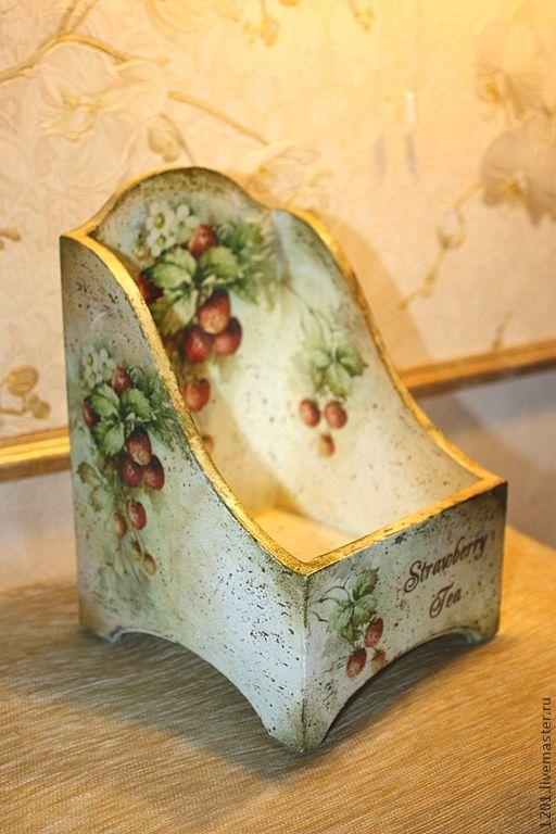 Caja con fresas...: