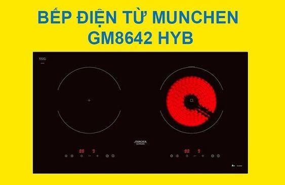 Bếp điện từ Munchen GM 8642 HYB xuất xứ Ý nhưng rất đáng để đầu tư