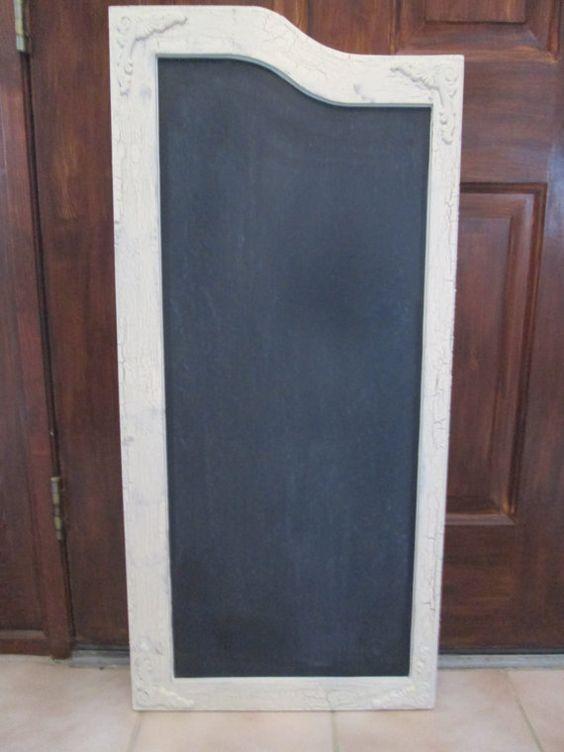 Antigue Door Chalkboard : Vintage swinging door saloon chalkboard weathered