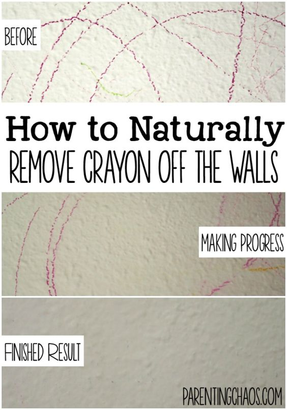 How To Get Crayon Off The Wall How To Get The O 39 Jays