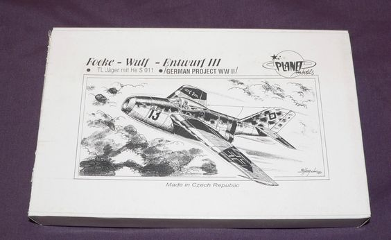 1 72 Planet Models Entwurf III TL Jager Mit He s 011 LUFT46 Luftwaffe Jetfighter   eBay