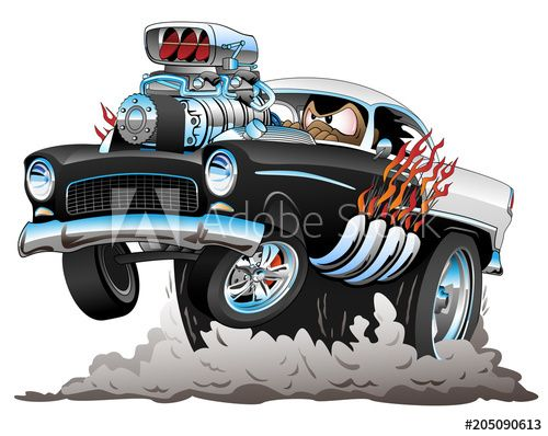 Cool Muscle Cartoon Cars Cartoon Muscle Car Drawings Madd Doggs