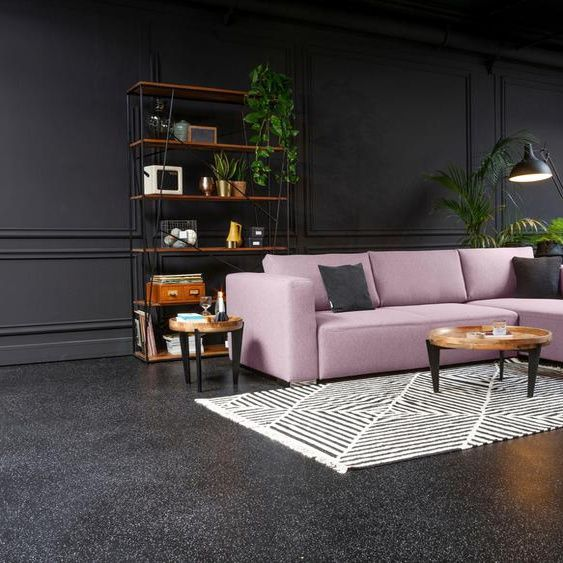 Tom Tailor Eckcouch Heaven Style M Rosa Stoff In 2020 Sofa