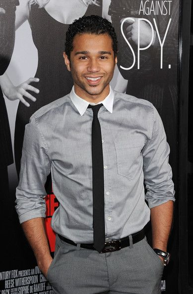 Corbin Bleu..He's growning up quite nicely.....my cougar card is out.