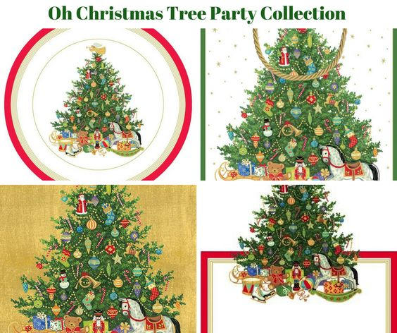 Oh Christmas Tree Party Banner