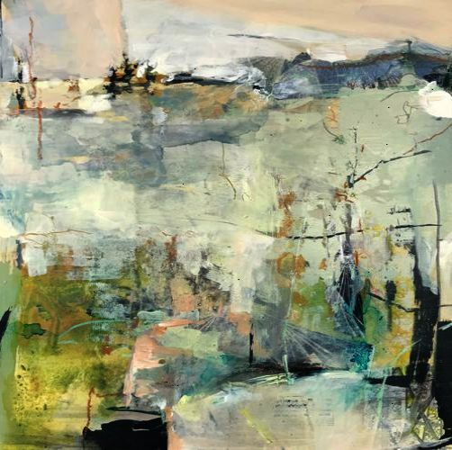 Improve Your Property With These Landscaping Tips Abstract Art Landscape Abstract Landscape Painting Abstract Art Painting