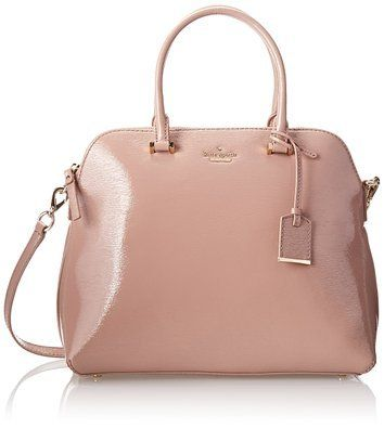 kate spade new york Cedar Street Patent Margot Top Handle Bag,Rose Water,One Size on Wanelo