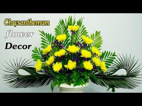 Limonium Sinuatum Chrysant Hemum Flower Arrangement For Altar 168