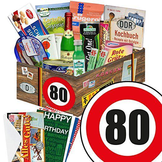 Ddr Geschenkbox Zum 80 Geburtstag Geschenkverpackung