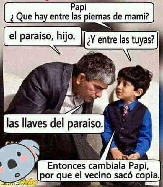 Papa Humor Memesderisa Chistes Humorespanol Conhumor Llave Vivaelhumorylarisa Humorespana Humor Romantico Imagenes Para Reirse Humor De La Vida