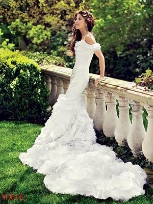 Dylan Lauren's Wedding Dress...designed by her dad. by tracey
