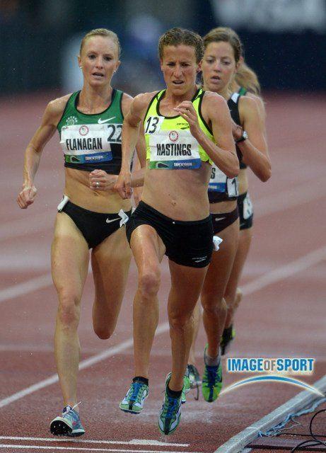 Amy Hastings and Shalane Flanagan