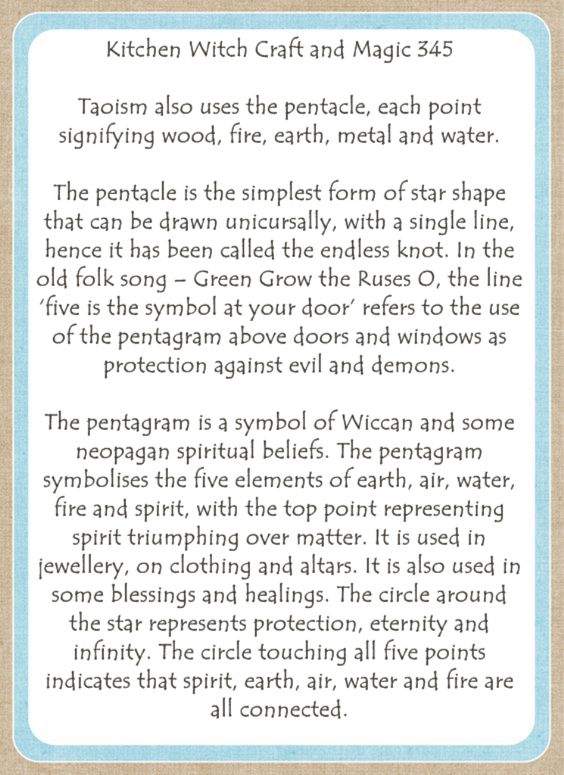 Kitchen Witch Craft and Magic 345
