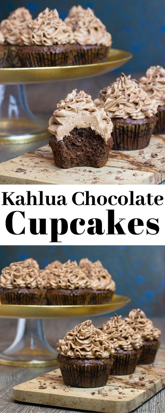 Kahlua Chocolate Cupcakes
