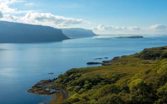 The Ardmeanach Peninsula
