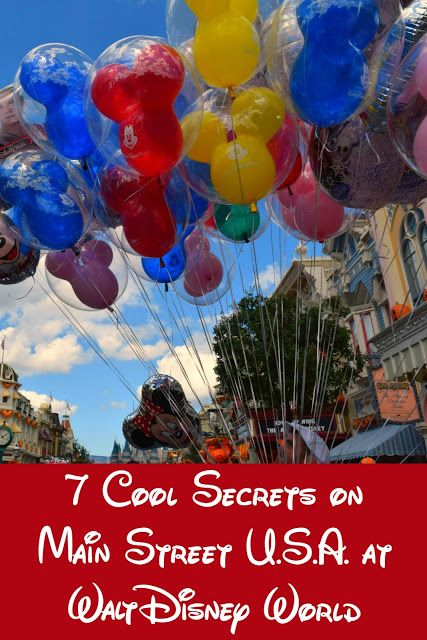 Don't miss these details on your next stroll down Main Street @ the Magic Kingdom in Disney World