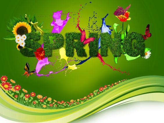 Spring HD Desktop Wallpaper | Spring colors and flowery desktop | HD Wallpapers…