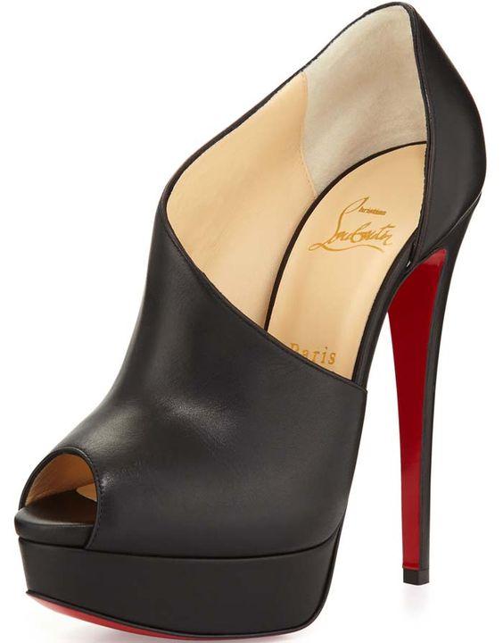 Christian Louboutin Verita Leather Black