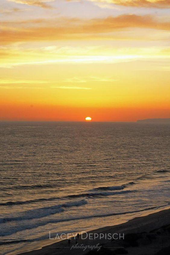 Landscape Photography, Sunset Photography, Beach Photography, San Clemente State Beach, San Clemente, California Photography {Lacey Deppisch Photography}