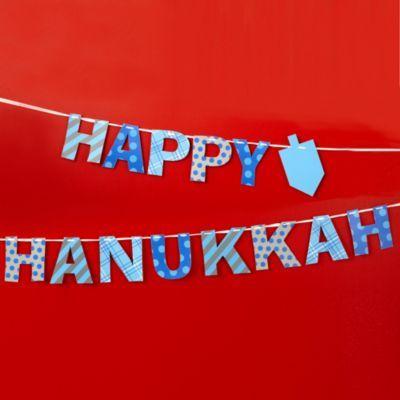 Happy Hanukkah Garland  | The Land of Nod