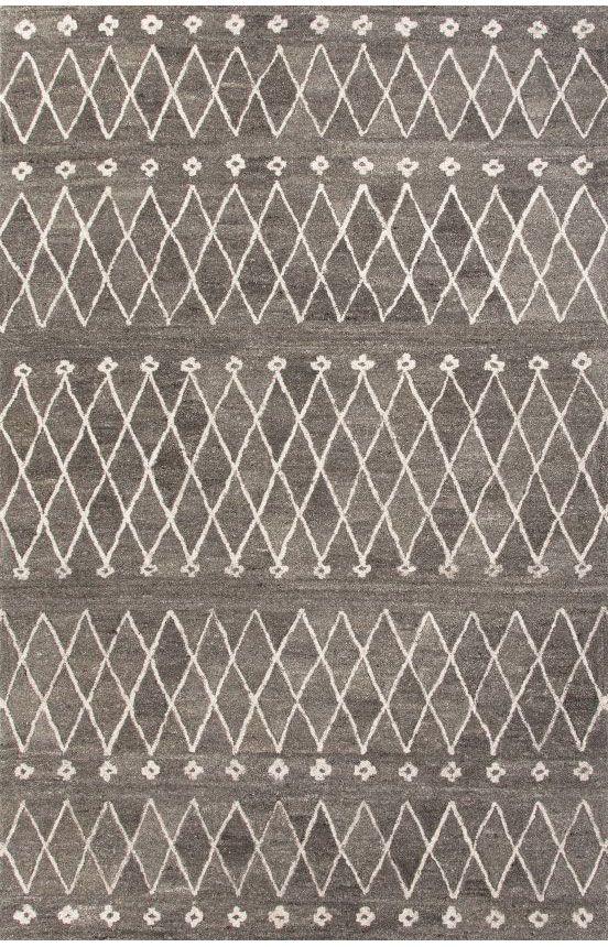 Jaipur Rugs Riad RIA06 Charcoal Slate Rug | Southwestern Rugs