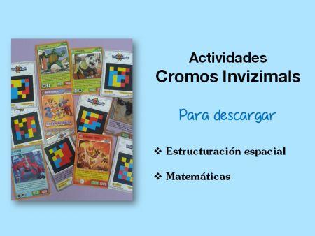 Actividades cromos Invizimals para el aula o el hogar
