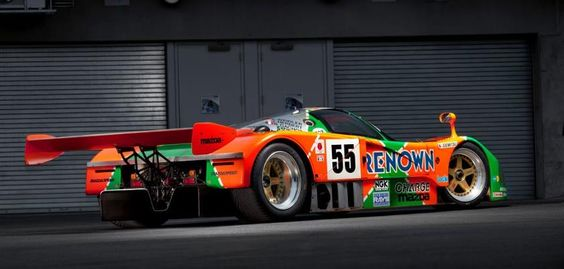 Mazda 787B Another pic of my favorite Le Man race car.
