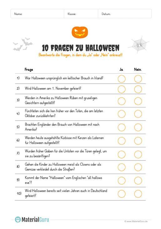 Halloween Kostenlose Arbeitsblatter In 2020 Kostenlose