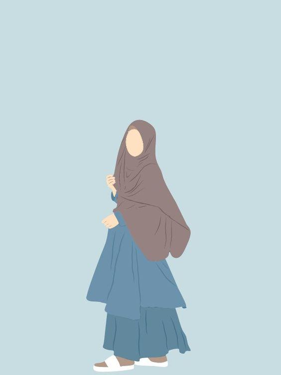 Kumpulan Gambar Kartun Muslimah 26
