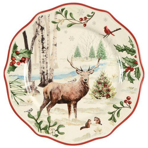 ef93ab293a7486e02d57251b43f575c2 - Better Homes And Gardens Winter Forest Dishes