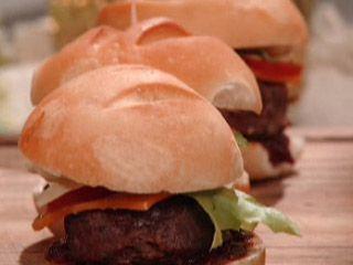 Mini-hamburguinhos