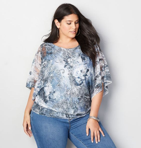 Outstanding Plus Size Blouses