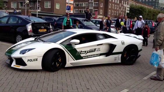 Lamborghini Aventador Lp700 4 Dubai Police Edition Polizei