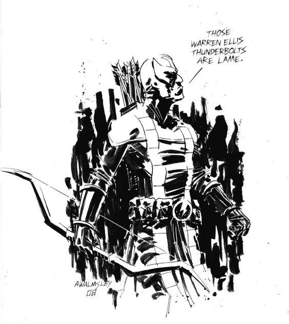 Hawkeye - Adam Walmsley