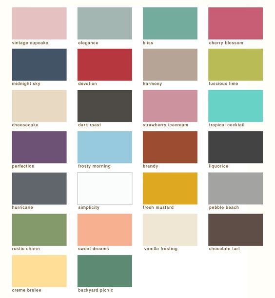 Color match for all annie sloan paints just b cause for Paint color match