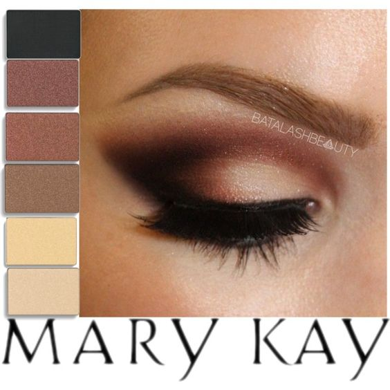 """""""Browns Eyeshadow by Mary Kay"""" by katygriego on Polyvore  All colors can be purchased individually or in a palette through me at Marykay.com/katygriego or you can email me questions or orders at katygriego@mary.com"""