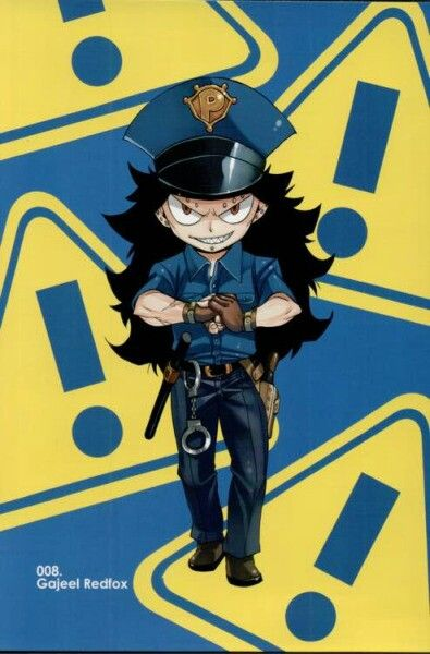 Fairy tail volume 50 postcard No 8 Gajeel Redfox