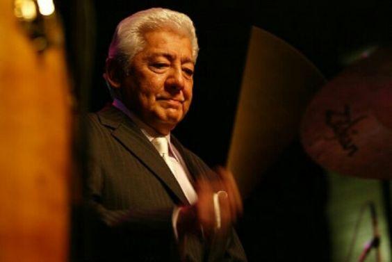 Pete Escovedo- famous percussionist, Latin Jazz