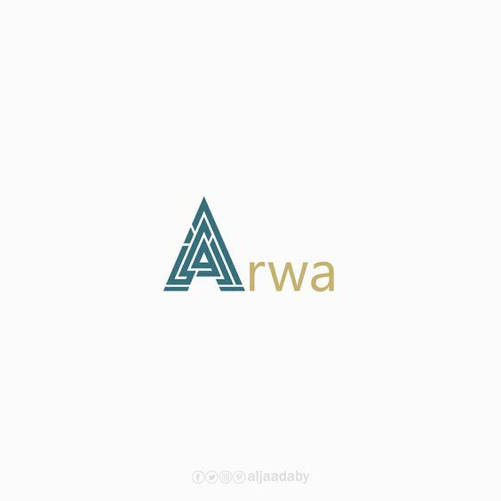 شعار أروى Logo Design Design Camera Art