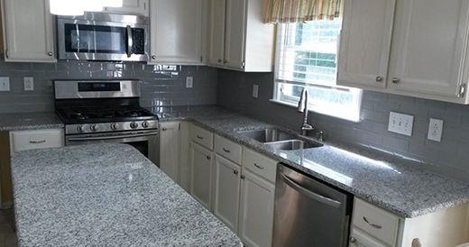Blanco Estrella Granite After Countertops Granite Countertops Granite