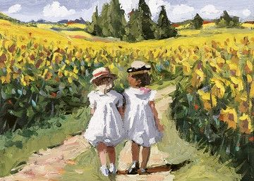 Sherree Valentine Daines - Field of Sunflowers